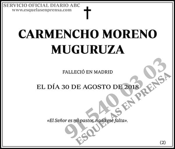 Carmencho Moreno Muguruza